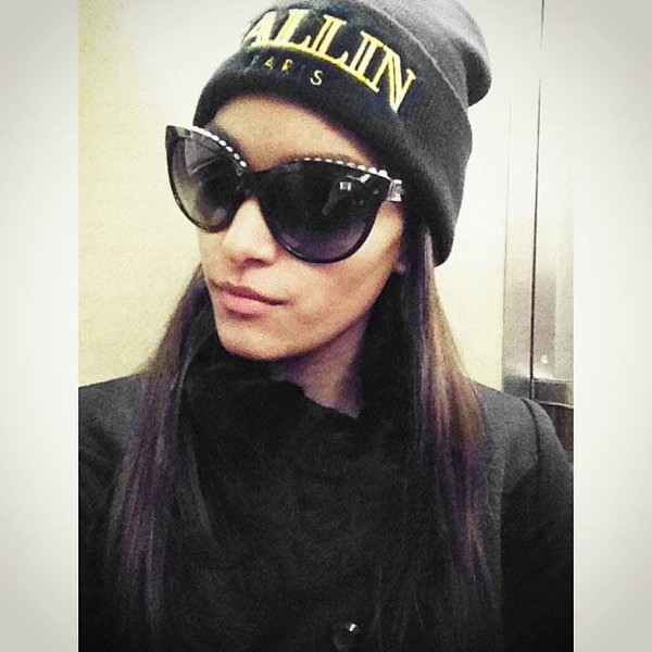 sunglasses cat eye black sunglasses hat