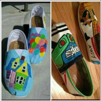 shoes toy story toms painted shoes up