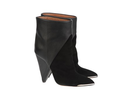Daithy boots - Black leather boots - Black - Shoes - Women - IRO