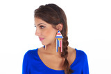Triangle Trinkets Wood Earring – Colocsty