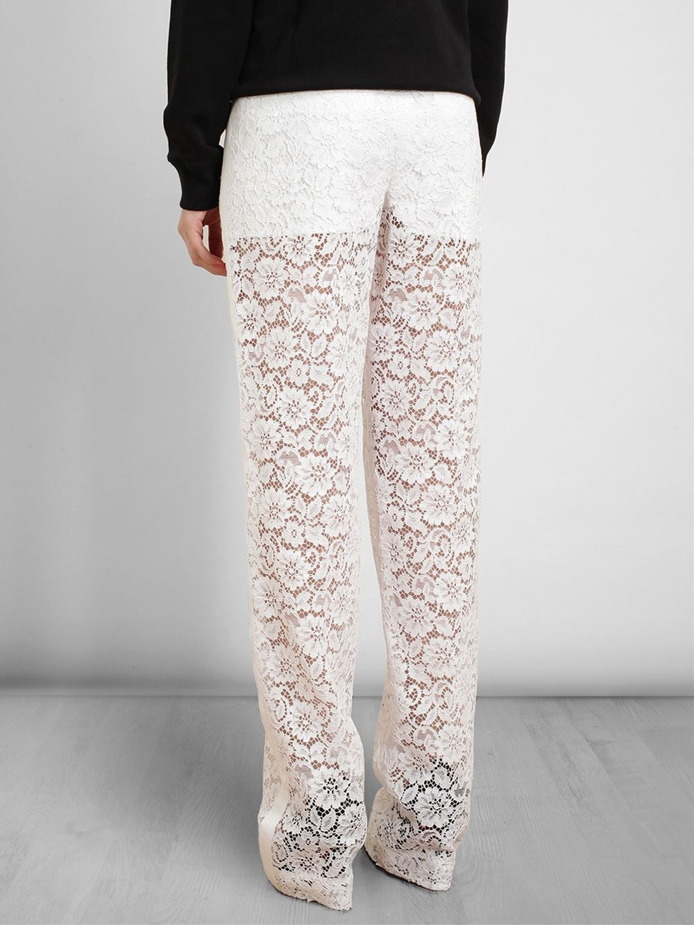 Givenchy Lace Trousers - Smets - Farfetch.com