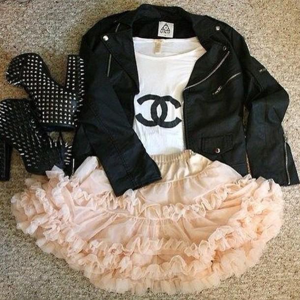 dress chanel inspired