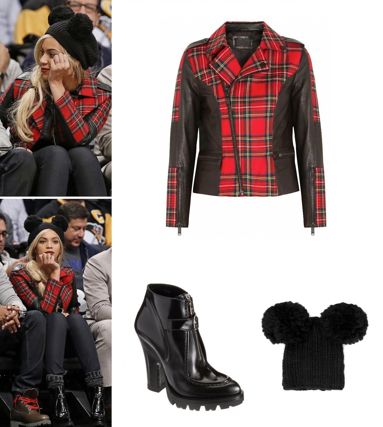 BEYONCÉ INFO.: Beyoncé was wearing Karl Lagerfeld...