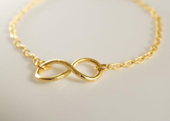 Infinity Bracelet, Charm Bracelet on Wanelo