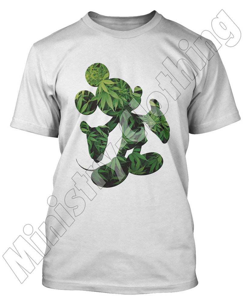 MICKEY MOUSE HANDS T SHIRT CANNABIS YMCMB WEED DISOBEY DOPE T-SHIRT TOP MENS NEW | eBay