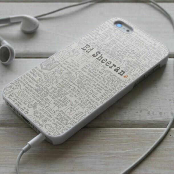phone cover singer iphone ed sheeran
