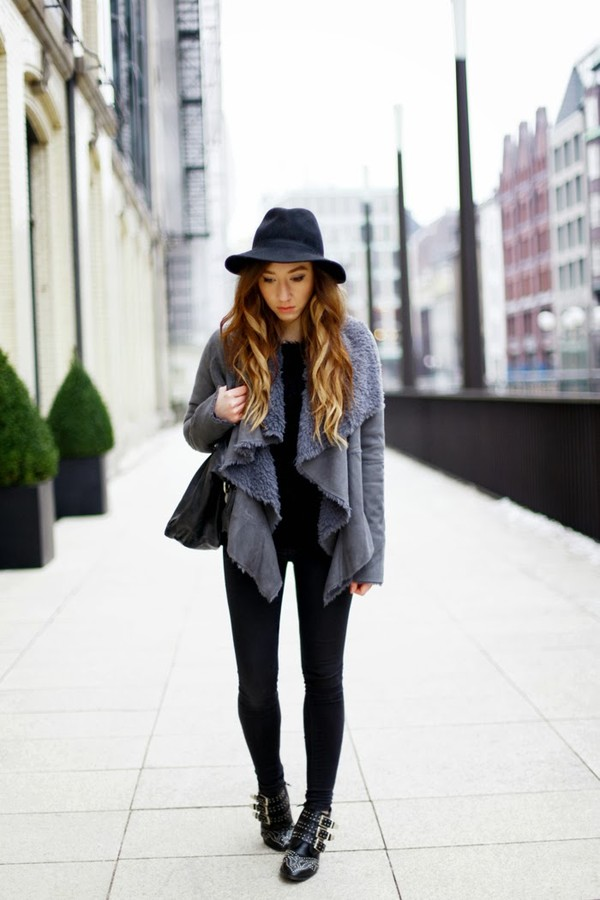 flirting with fashion jacket sweater jeans hat shoes bag