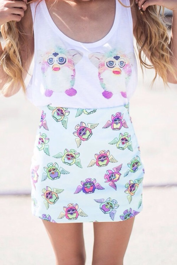 dress furby colorful ferby matching set