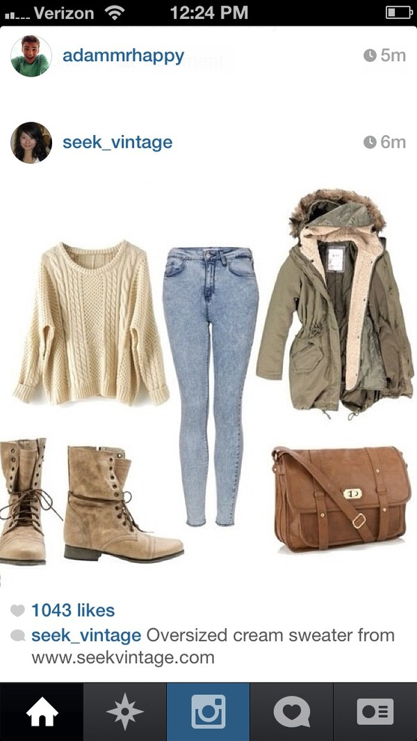 coat fall outfits boots winter outfits jacket winter coat sweater oversized sweater fall sweater fall boots bag shoes jeans