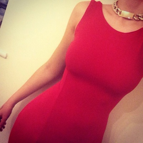 dress fashion red elegant luxury red dress