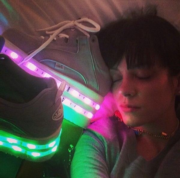 shoes lights lilly allen