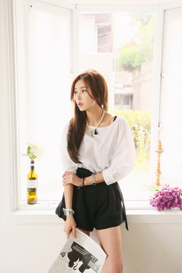 blouse white long sleeves