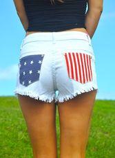 USA Pocket Cutoffs