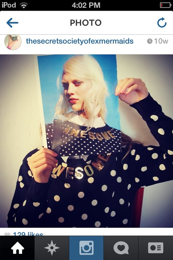 sweater white black polka dots sweatshirt polka dots gold