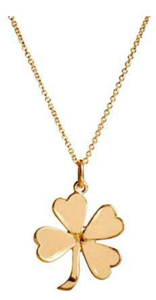 jewels necklace clover chain
