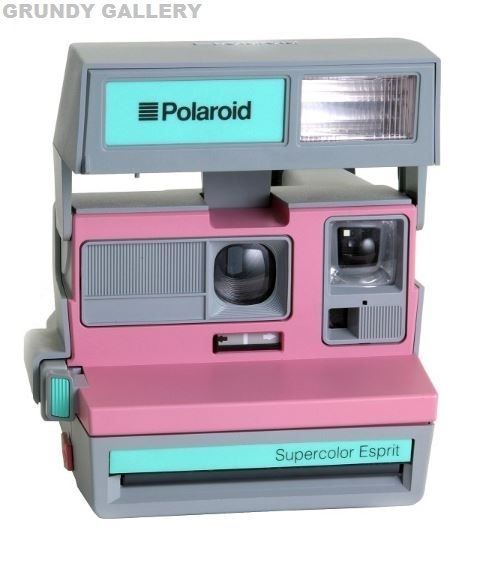 POLAROID SUPERCOLOR ESPRIT INSTANT CAMERA - RARE ANALOGUE CAMERA ! | eBay