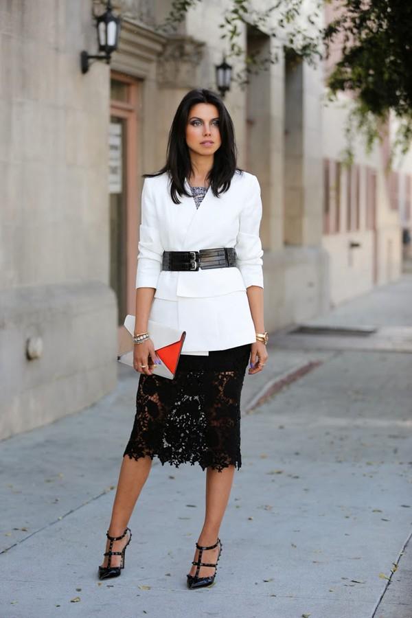 viva luxury skirt jacket shoes belt bag jewels nail polish