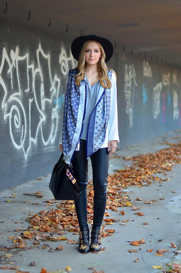 oh my vogue scarf t-shirt jacket pants shoes bag hat jewels