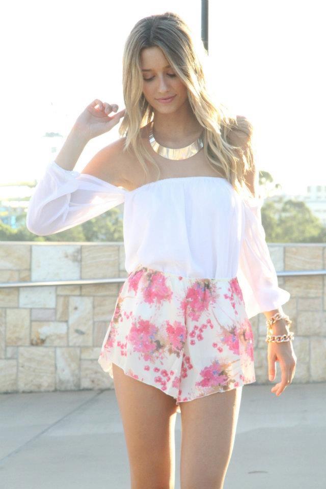 SABO SKIRT new arrival!!! Floral Bloomer Shorts:) | Sabo stuff