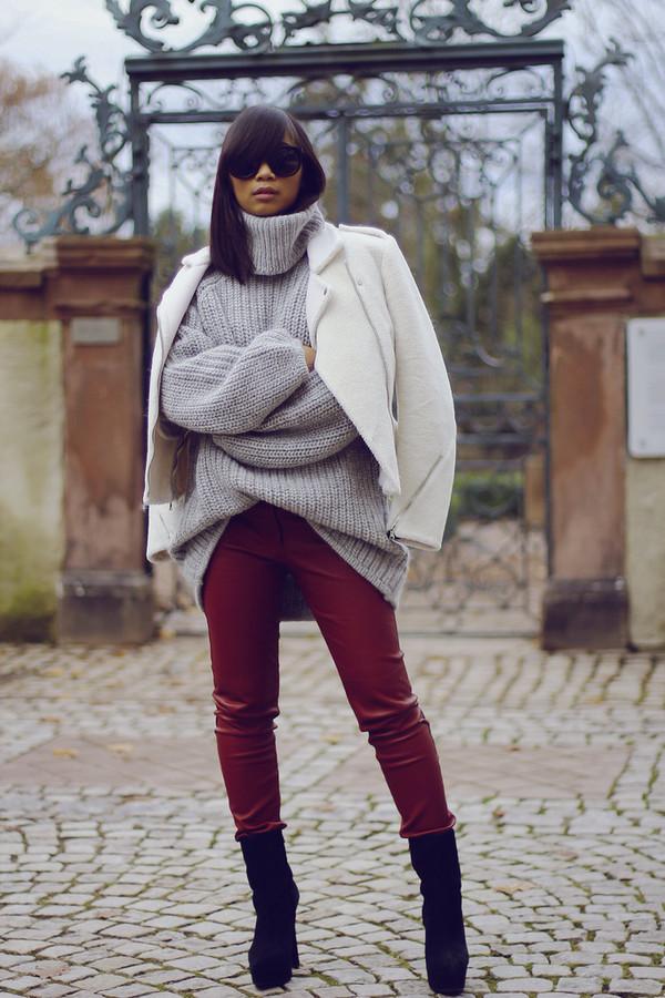 mode junkie sweater jewels pants jacket shoes sunglasses