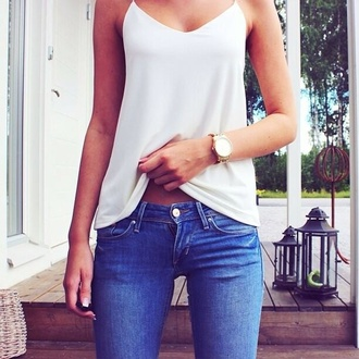 shirt clothes top white singlet jeans blouse white chiffon top forever 21