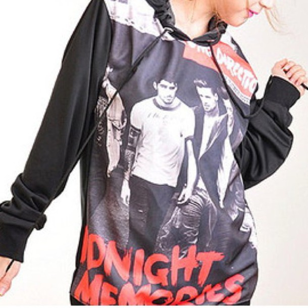 one direction hoodie sweater