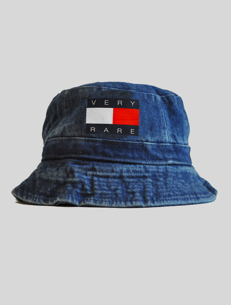 Very Rare Tommy Denim Bucket Hat | KYC Vintage ($8.00) - Svpply