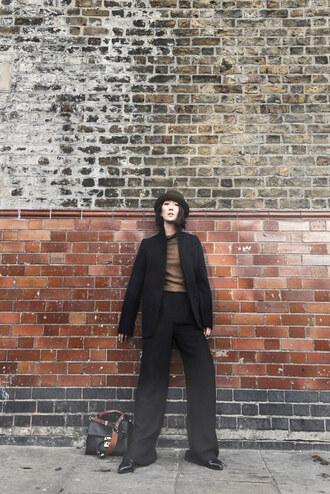 park and cube blogger shoes hat pants jewels shirt jacket skirt coat bag