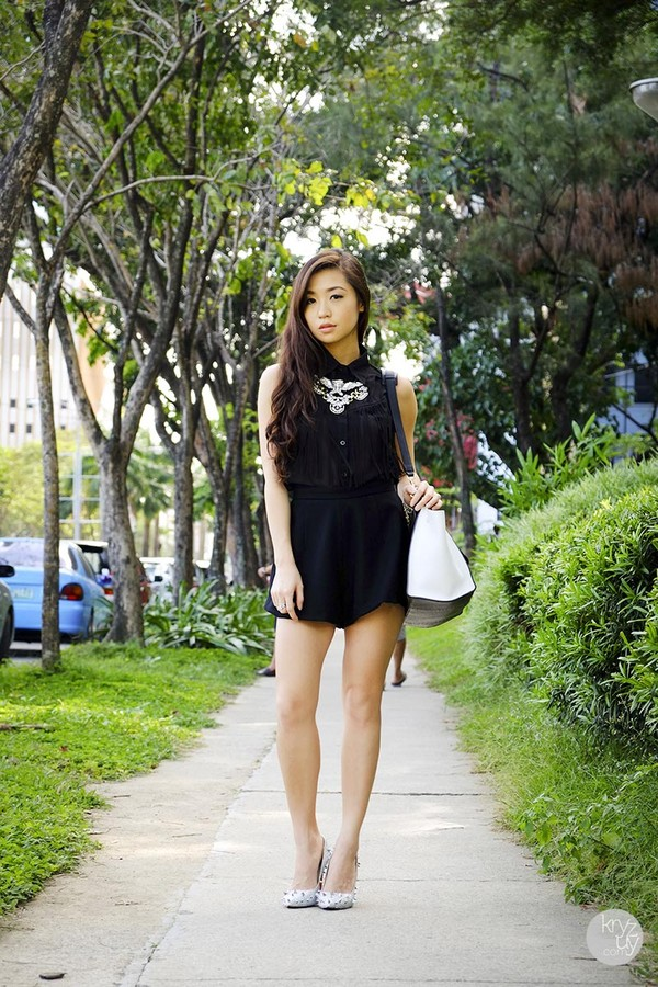 kryzuy t-shirt shorts shoes bag jewels