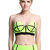 ROMWE | Dual-tone Fluorescent Green Bandeau Set, The Latest Street Fashion