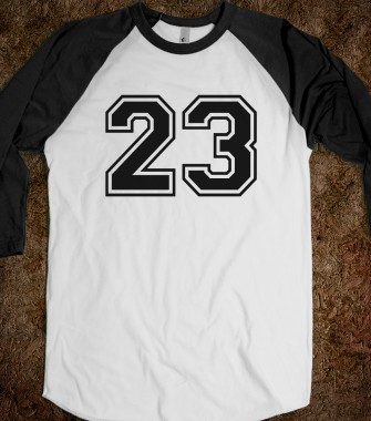 Sports number 23 - Tees - Skreened T-shirts, Organic Shirts, Hoodies, Kids Tees, Baby One-Pieces and Tote Bags Custom T-Shirts, Organic Shirts, Hoodies, Novelty Gifts, Kids Apparel, Baby One-Pieces   Skreened - Ethical Custom Apparel