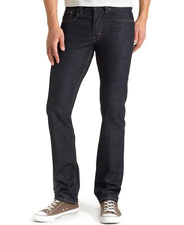 Levi's 511 Slim-Fit Rigid Dragon Jeans - Jeans - Men - Macy's
