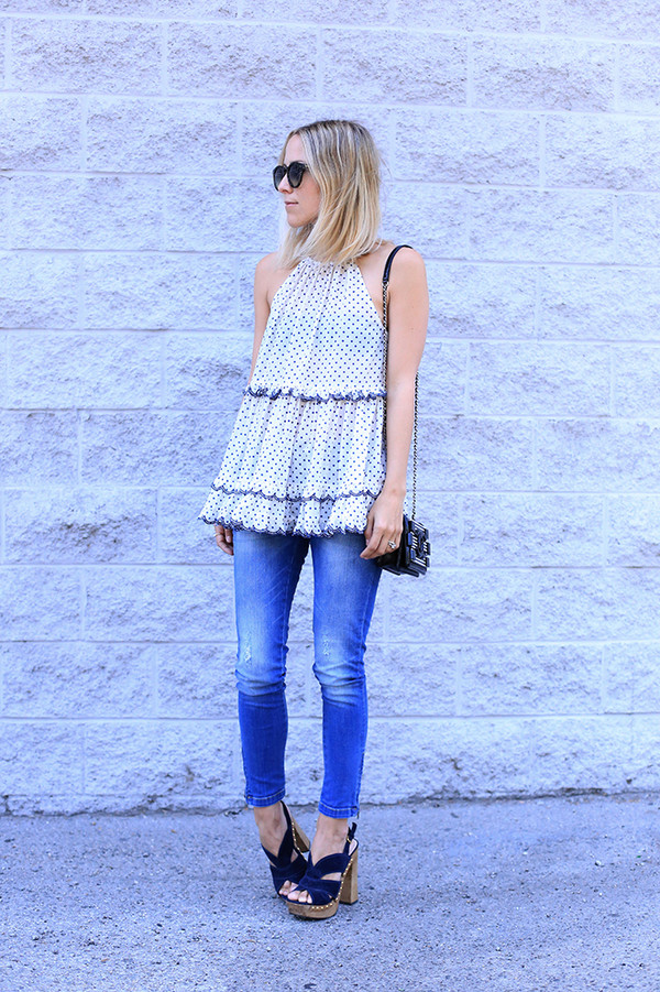 damsel in dior jeans shoes sunglasses jewels