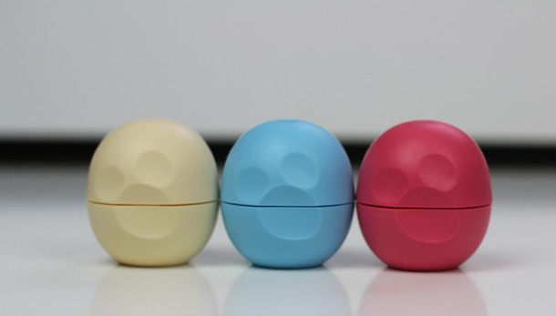 make-up lip balm alice in wonderland eos alice all three anywhere vanilla rare limited edition set eos sphere set