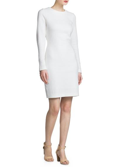 MANGO - ARTIKEL - Kleider - Gestepptes Kleid