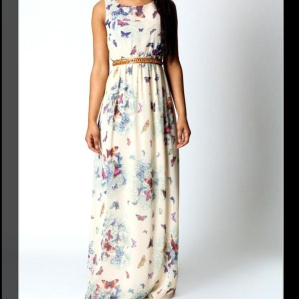 maxi dress butterfly dress open back dresses