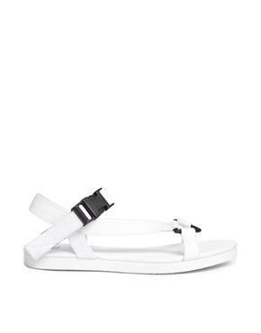 ASOS | ASOS FULL MOON Flat Sandals at ASOS