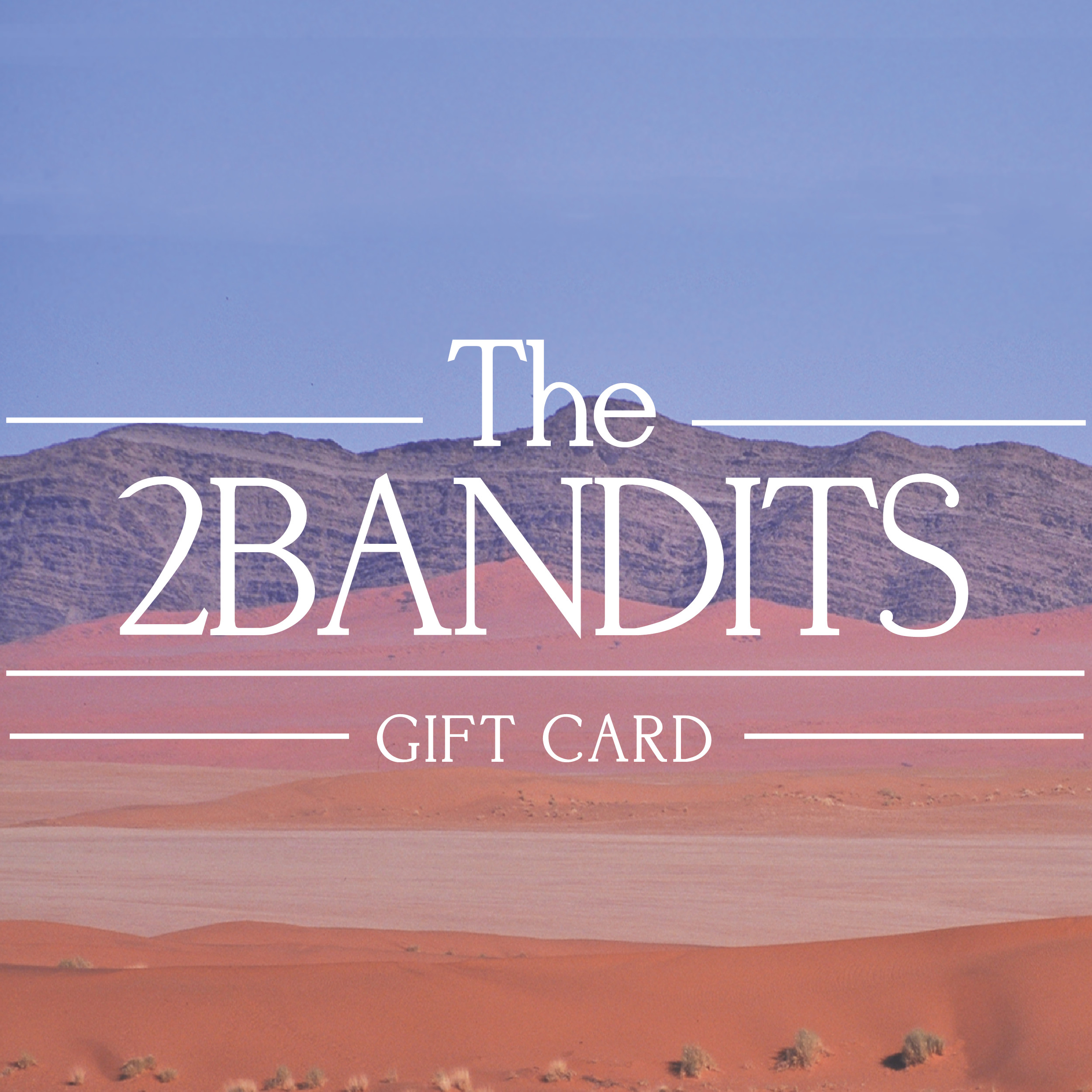 The 2 Bandits   Welcome