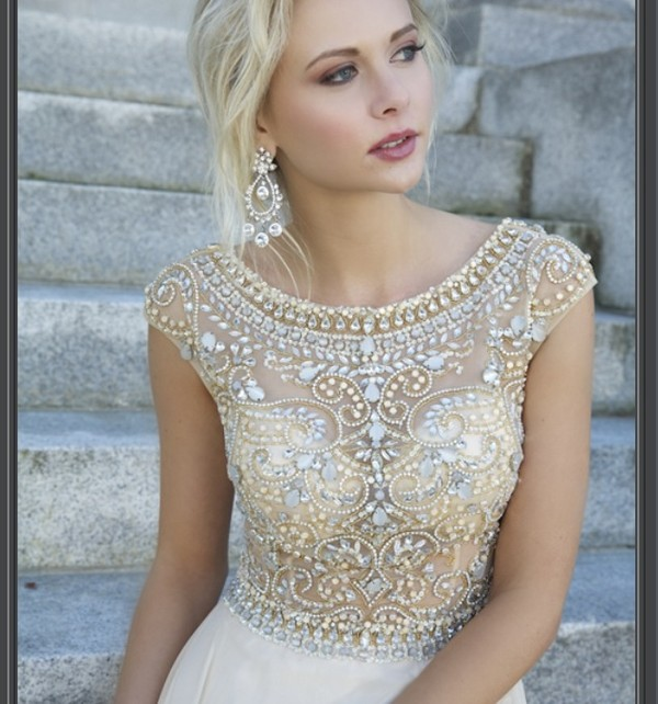 dress prom dress pretty vintage coral dress glitter dress