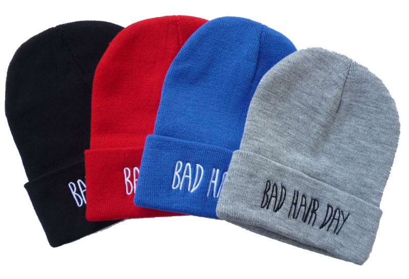 New Hot Funny Hip pop Fashion Wool Knit Ballin Supreme Compton Bad Hair Day Beanie Hat Men Women Basketball Winter Cap hat-in Skullies & Beanies from Apparel & Accessories on Aliexpress.com