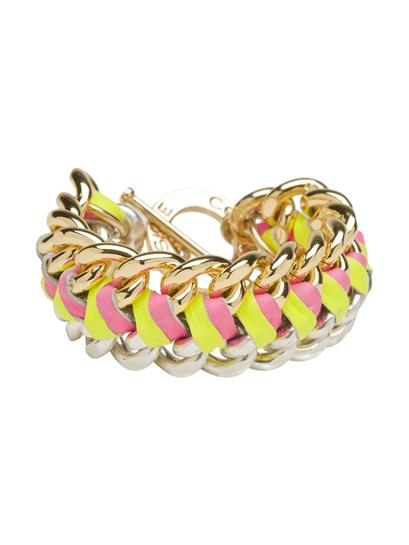 CC Skye Natalie Bracelet, CC Skye bracelet, CC Skye chain bracelet, CC Skye neon bracelet