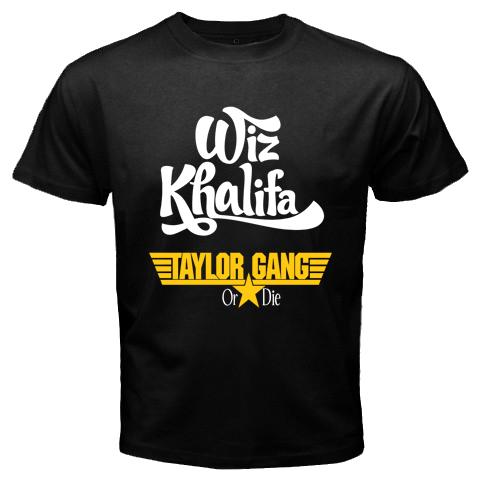 New Taylor Gang Wiz Khalifa American Hip Hop Rapper Black T Shirt Size s 3XL | eBay