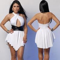 Bandage dress sexy backless patchwork dress · fanewant · Online Store Powered by Storenvy