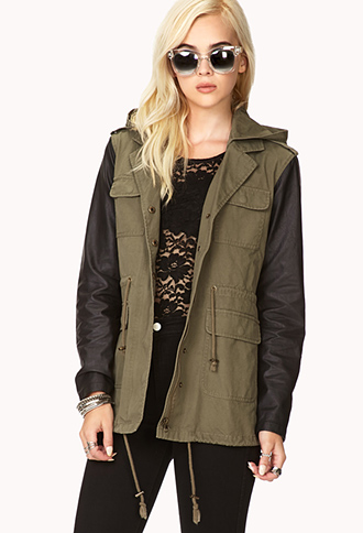 Out Of This World Utility Jacket | FOREVER21 - 2040496479