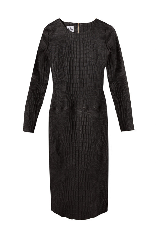 Berlin Croc Dress - MLLE Mademoiselle