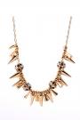 Shiny Flower Necklace - OASAP.com