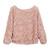 3D Rose Top - Baby Pink