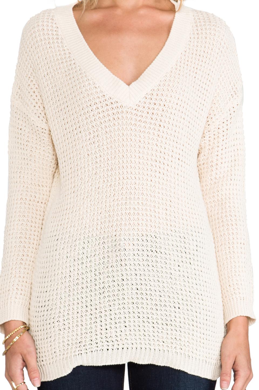ANINE BING Knit Sweater in Beige | REVOLVE