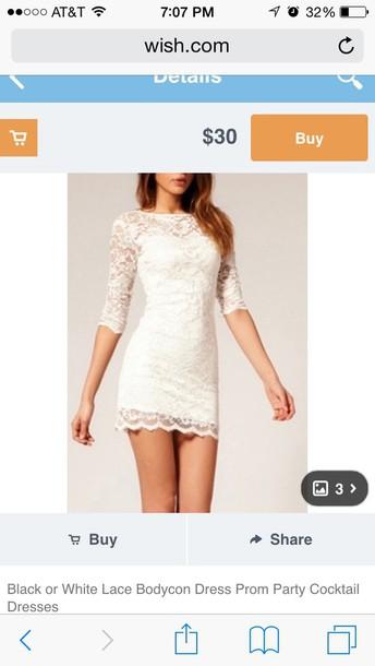 dress lace dress bodycon dress