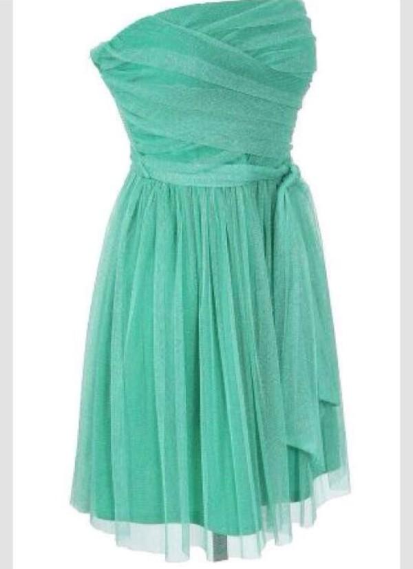 aqua green dress dress